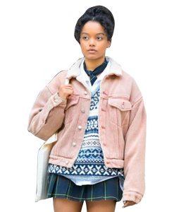 Gossip Girl 2021 Zoya Lott Pink Jacket