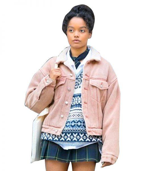 Gossip-Girl-2021-Zoya-Lott-Sherpa-Jacket