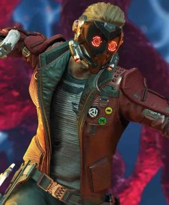 Gotg The Telltale Series Star Lord Stand-up Collar style Jacket