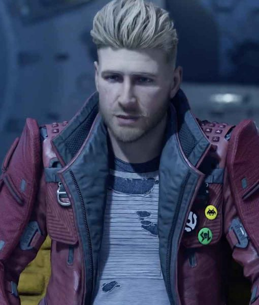 Gotg The Telltale Series Star Lord Leather Jacket