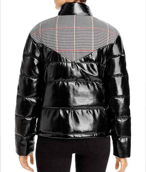 High School Musical The Musical The Series Gina Porter Plaid Puffer Jacket