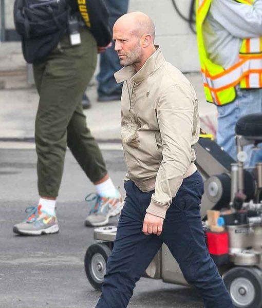 Wrath of Man 2021 Jason Statham H Bomber Jacket