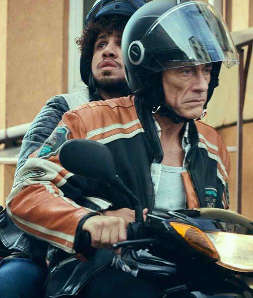 Jean-Claude Van Damme The Last Mercenary Cafe Racer Jacket