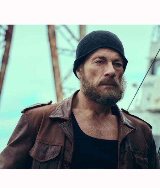 Jean-Claude Van Damme The Last Mercenary Leather Jacket