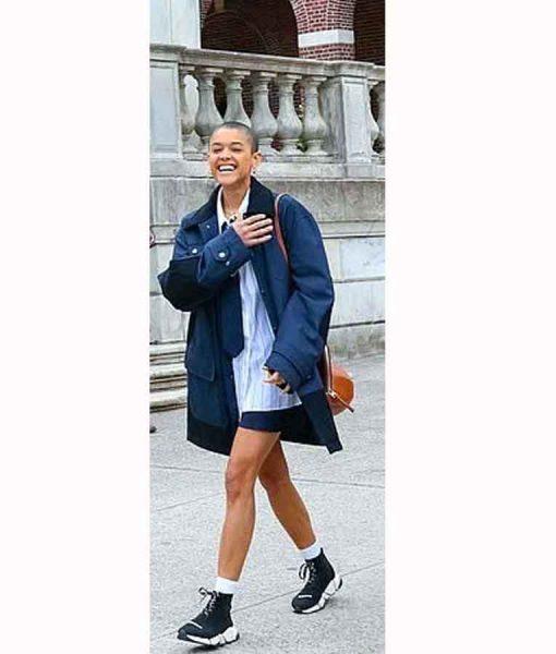 Gossip Girl 2021 Julien Calloway Long Jacket