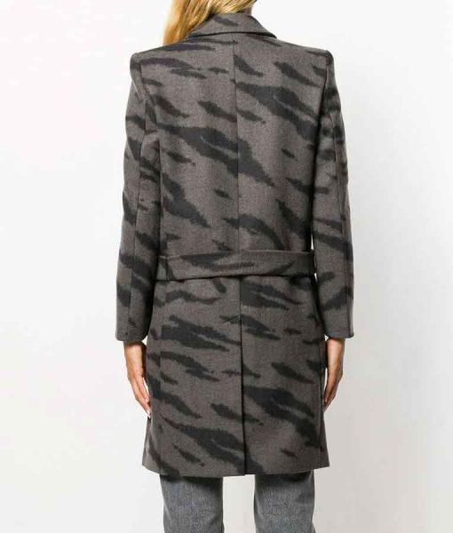The Bold Type S05 Jane Sloan Tiger Print Trench Coat