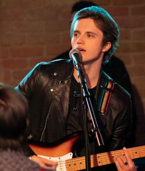 Love, Victor Season 02 Benji Leather Jacket