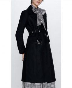 Batwoman S02 Sophie Moore Black Trench Coat