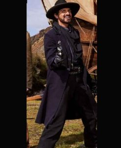 Miracle Workers Season 03 Lord Vexler Trench Coat