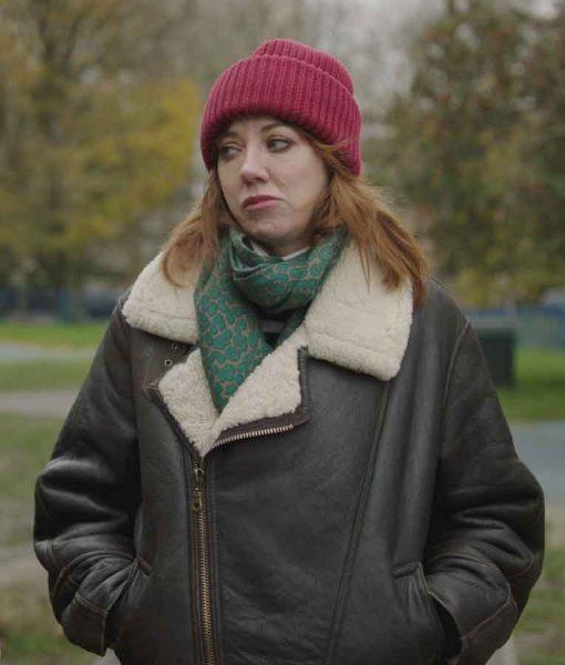 Motherland Season 03 Liz Leather Jacket
