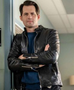 Mystery 101 Killer Timing Travis Burke Leather Jacket