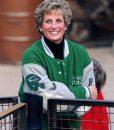 Princess Diana Philadelphia Eagles Varsity Jacket