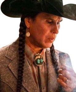 Rainwater-Driver-Yellowstone-S04-Mo-Brings-Plenty-Tweed-Coat