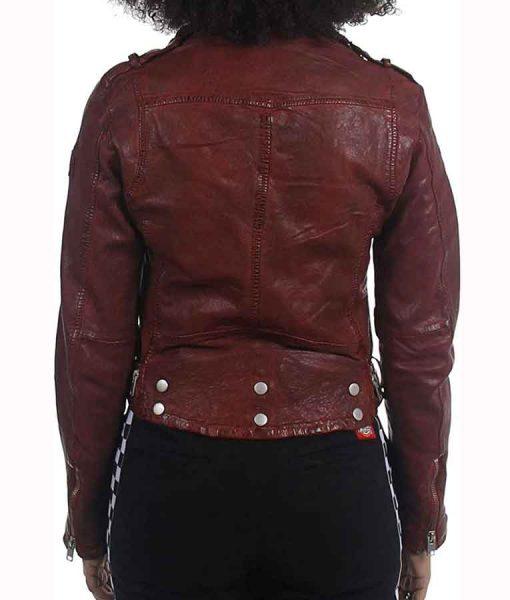 The Republic of Sarah 2021 Stella Baker Leather Jacket