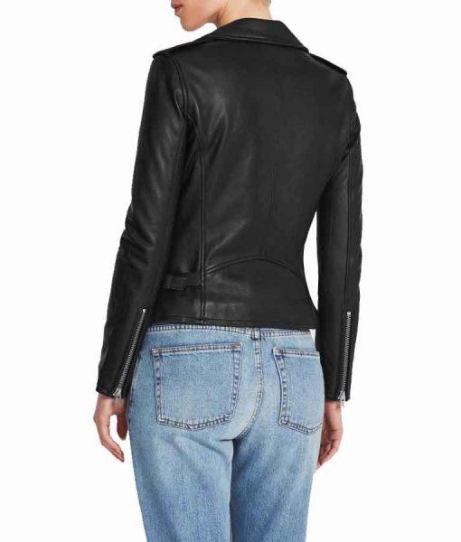 Elizabeth Tulloch Superman and Lois 2021 Lois Lane Black Leather Jacket