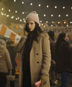Lois Lane Wool-blend Coat