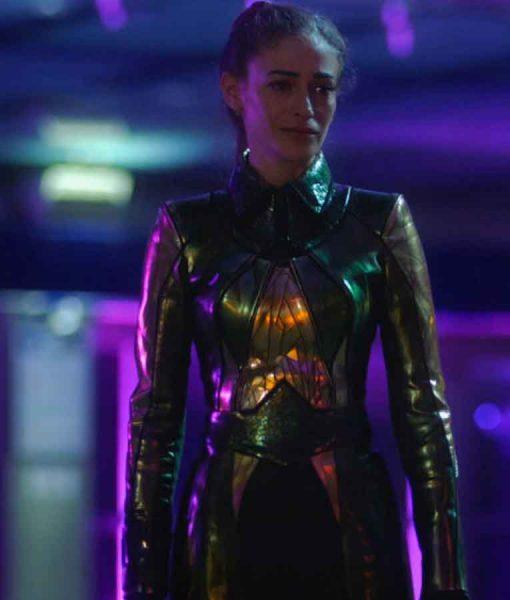 Efrat Dor The Flash Season 07 Mirror Master Coat