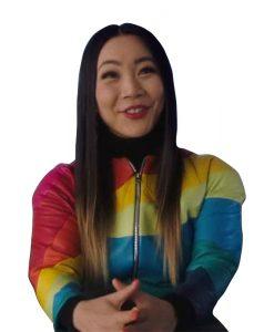 Jona Xiao The Flash Season 07 Rainbow Raider Jacket