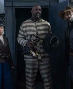 The Harder They Fall 2021 Rufus Buck Prisoner Suit