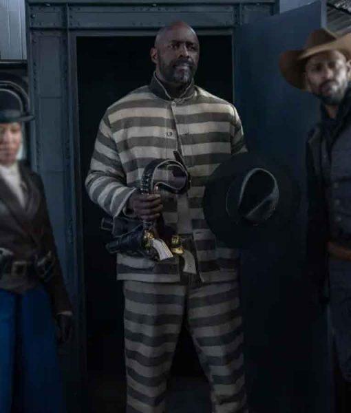 The Harder They Fall 2021 Idris Elba Prisoner Suit