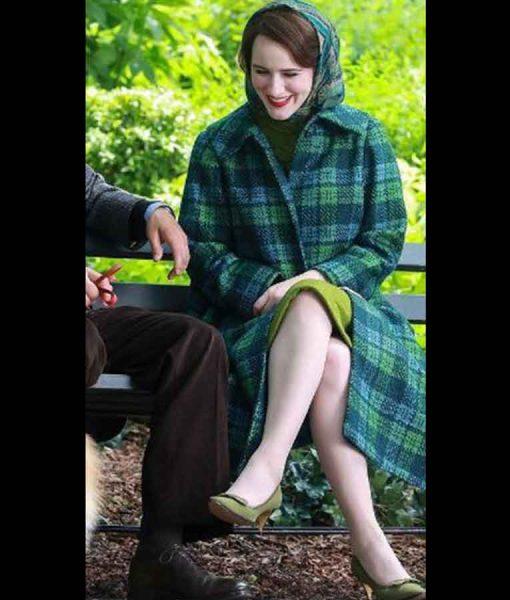 The Marvelous Mrs. Maisel Season 04 Rachel Brosnahan Trench Coat