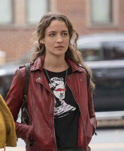 Sarah Cooper The Republic of Sarah 2021 Leather Jacket