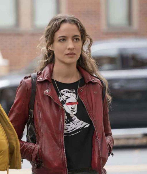 The Republic of Sarah 2021 Sarah Cooper Moto Leather Jacket