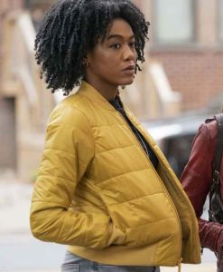 Nia Holloway The Republic of Sarah 2021 Amy Johnson Bomber Jacket