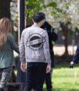 The Umbrella Academy S03 Ben Hargreeves Bomber Grey Jacket