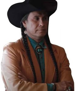 Yellowstone Mo Brings Plenty Brown Leather Coat