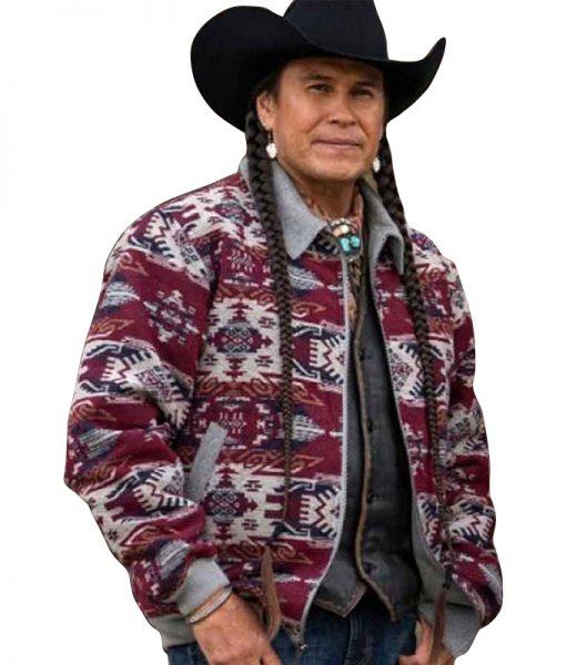 Yellowstone Season 4 Moses Brings Plenty Jacket