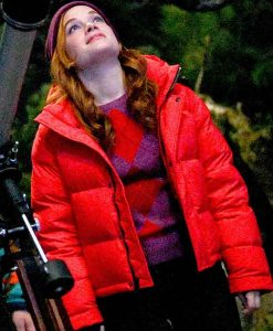 Jane Levy Zoey's Extraordinary Playlist S02 Zoey Red Puffer Jacket