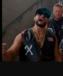 AEW Blood and Guts Santana and Ortiz Puerto Rican Flag Vest