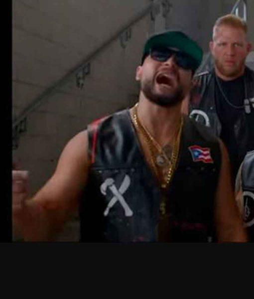 AEW Santana and Ortiz Puerto Rican Flag Vest