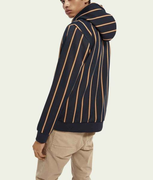 Bre-Z All American S03 Tamia Cooper Striped Hoodie