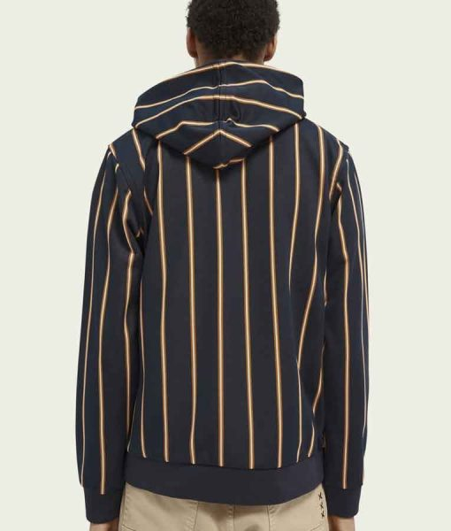 All American S03 Bre-Z Striped Hoodie
