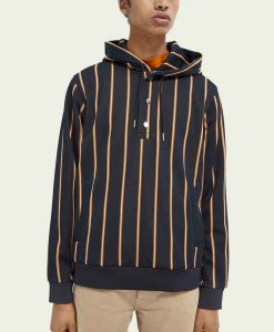 All American S03 Tamia Cooper Striped Hoodie