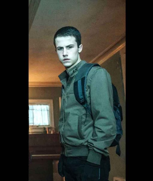 Dylan Minnette Don't Breathe Alex Bomber Jacket