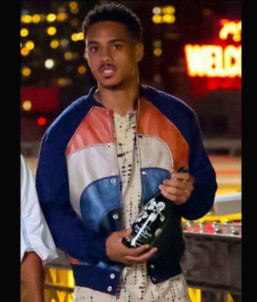 Eric The Perfect Find Keith Powers PU Leather Jacket