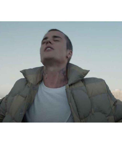 Justin Bieber Stay Puffer Jacket