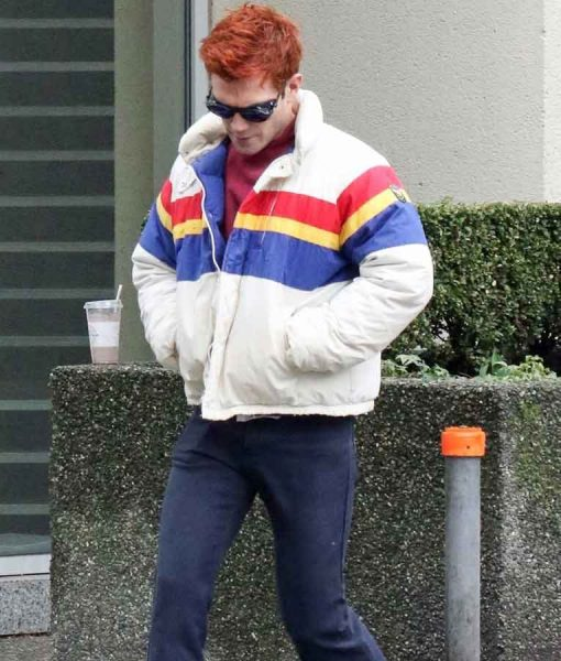 KJ Apa Stripe Jacket