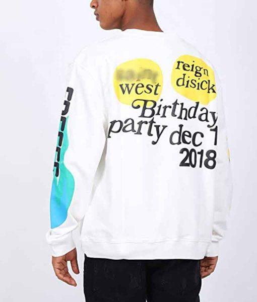 Lucky Me Its My Birthday Sweatshirt