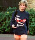 Fly Virgin Atlantic Princess Diana Sweatshirt