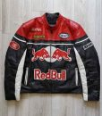 Vintage RED BULL Racing Leather Jacket