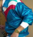 The Exchange Avan Jogia Blue Stain Jacket