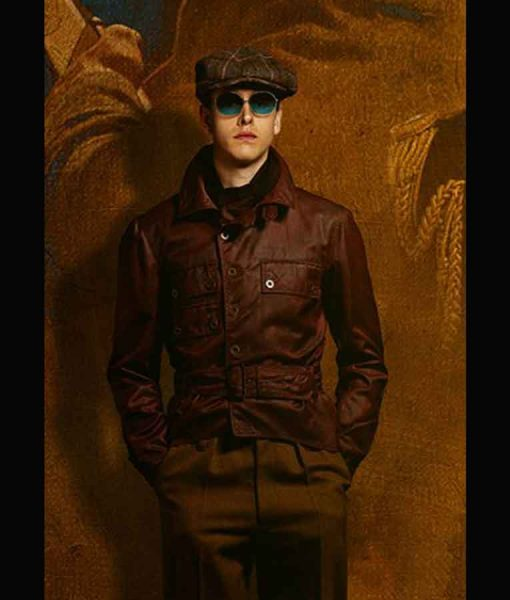 The King's Man 2021 Conrad Brown Leather Jacket