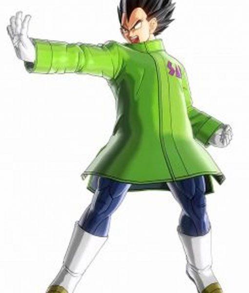 Vegeta Green Jacket