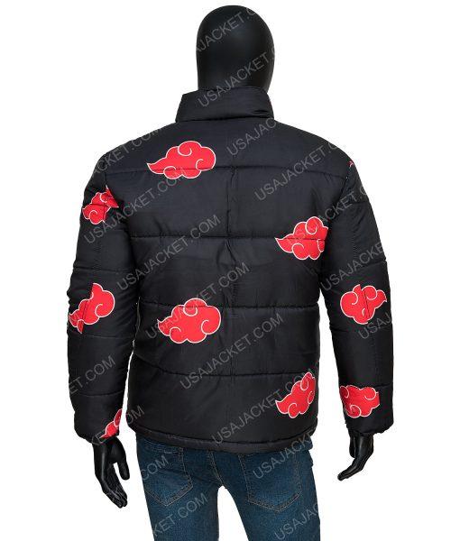 Naruto Akatsuki Puffer Jacket