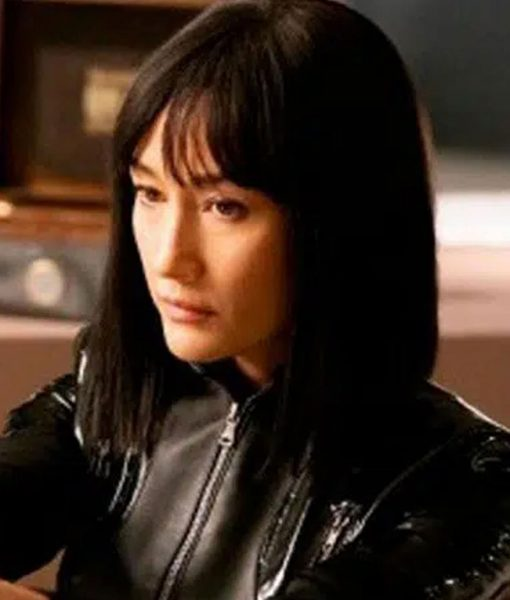 The Protege Anna Black Leather Jacket
