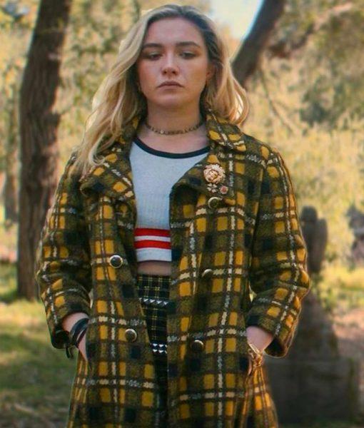 Black Widow Yelena Belova Plaid Jacket